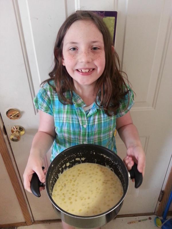 Corn Chowder Big Grin