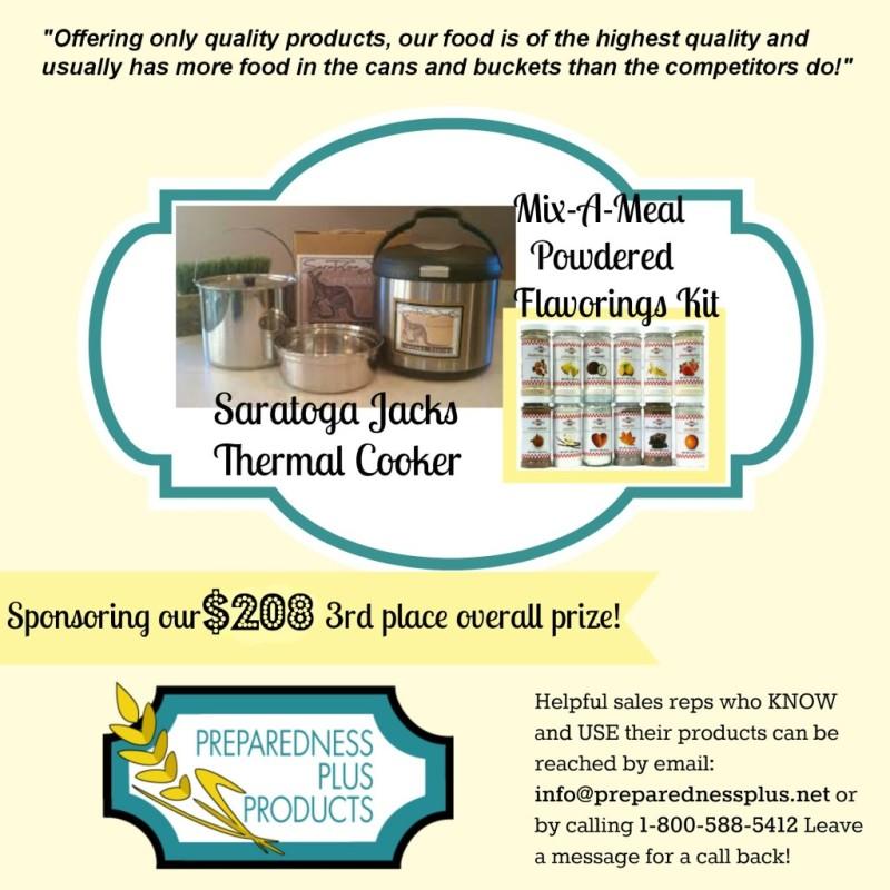 Preparedness Plus Products ad2